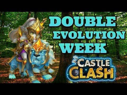 Castle Clash Double Evolution Week! Devo Lady Leo!