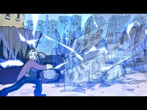 смешные моменты из аниме 'Стальной алхимик' #2