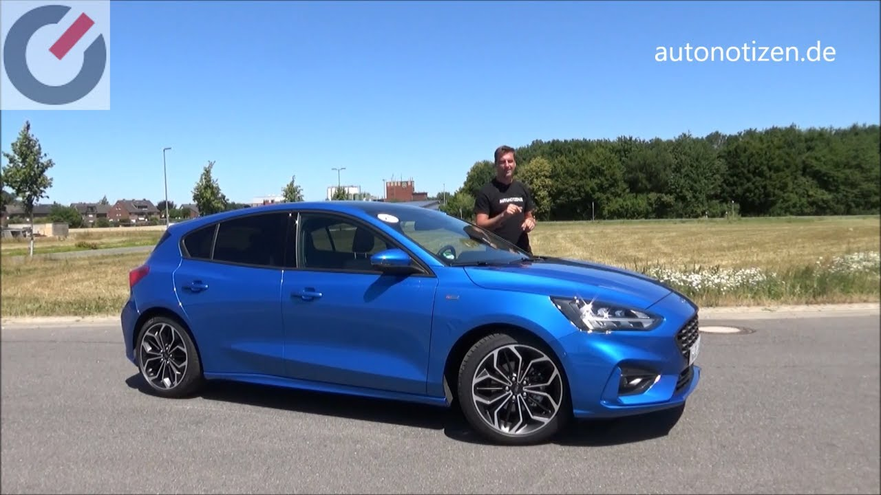 Ford Focus 2018 1.0 EcoBoost ST-Line Fahrbericht / Review und SYNC 3 - Check - YouTube