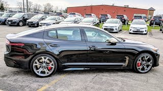 Kia Stinger First Walkaround and Review!