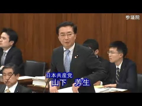 山下芳生 日本共産党 総務委員会 参議院 2019 03 14