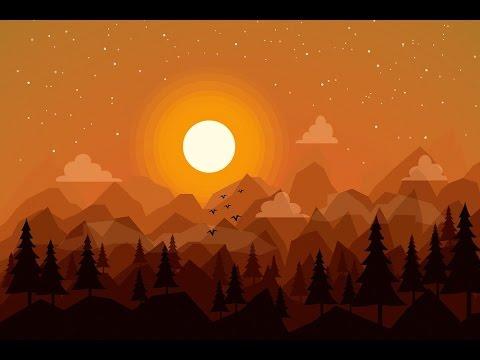 Flat Landscape Adobe Illustrator Tutorial