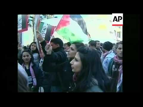 Protest for Palestinian unity, Abbas, Hamas on elections