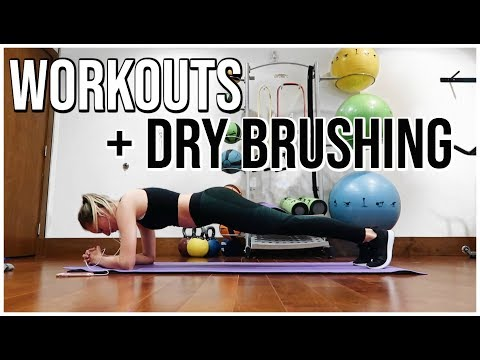 EXERCISE, DRY BRUSHING, ANSWERING TOUGH QUESTIONS | Marriage, Boyfriend, Law of Attraction | Vlog