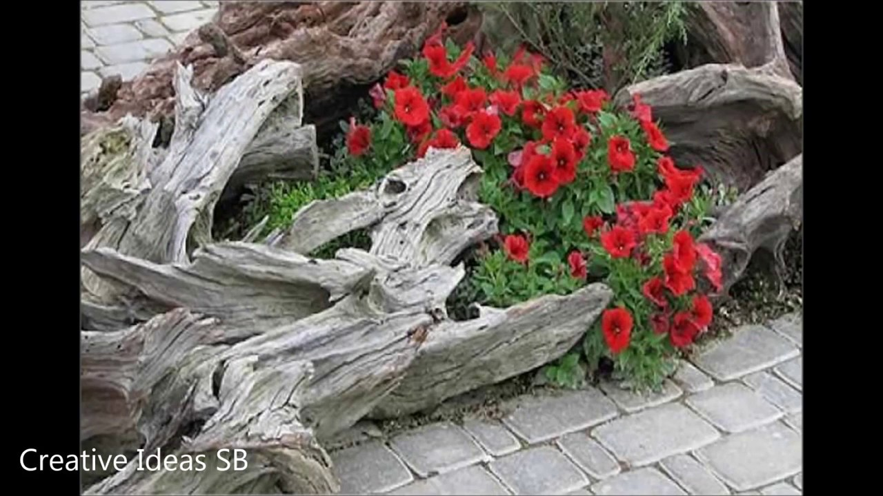 Garten idee  50 Garten idee, Over 50 Wood Flower Pot Ideas Creative DIY Pot ...