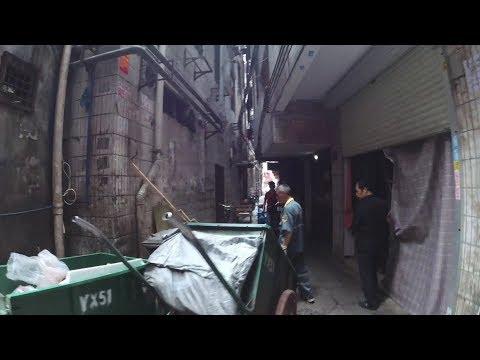 Экскурсия. Трущобы в центре мегаполиса. Жесть и ужас Китая