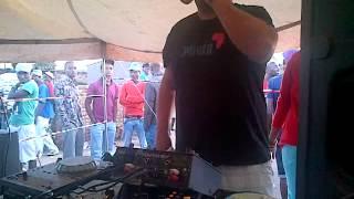 Dj christos @7am Rocking Middleburg Mtoni @Dosline 2012 dec festive bash#