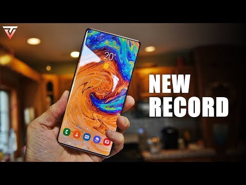 Samsung Galaxy Note 10 - A NEW RECORD