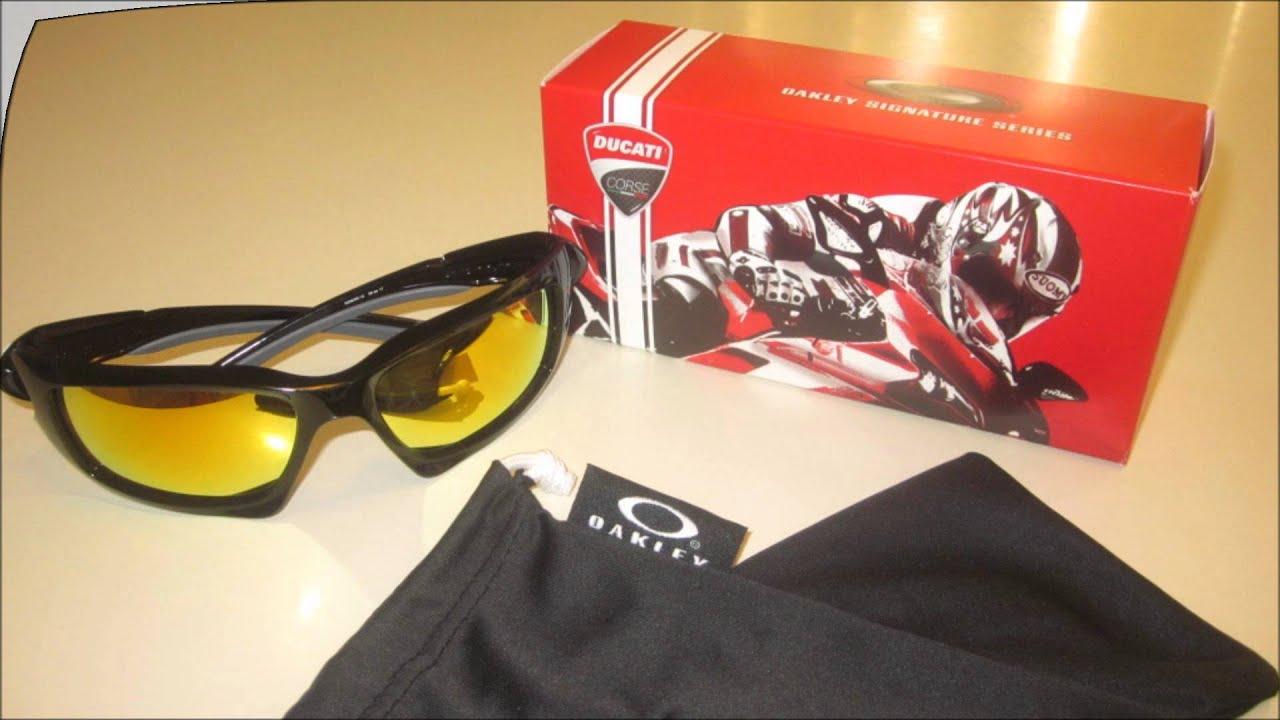 2e4f0425954 Oakley Scalpel Polished Fire Iridium Sunglasses - YouTube