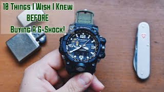 10 Things I Wish I Knew BEFORE Buying A G-Shock!