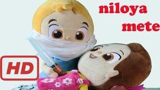 Niloya Çok Şeker Yedi İğne Oluyor Niloya ve Mete Türkçe Çizgi Film  #DAW