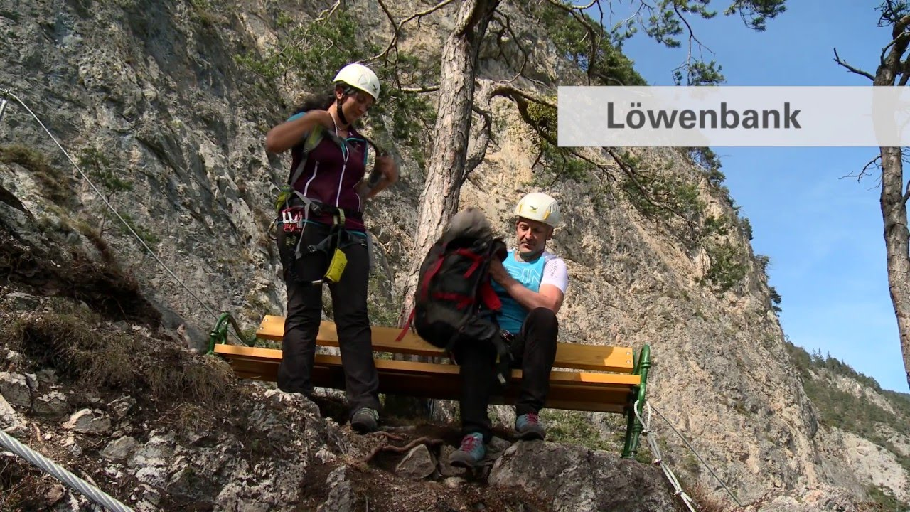 Klettersteig Geierwand : Geierwand klettersteig youtube