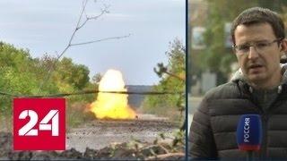Донбасс: военных и технику развести удалось только в одной зоне(, 2016-10-03T07:32:03.000Z)