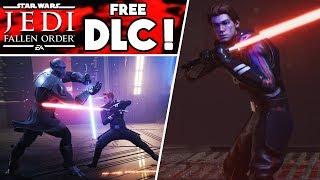 Star Wars Jedi: Fallen Order just released FREE DLC - New Game Modes, Lightsabers, Skins & More!