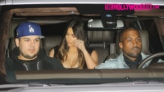 Rob Kardashian Celebrates His Birthday At Nobu With Kim, North, Kanye West, Kendall & More 3.19.16