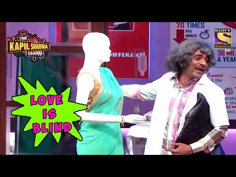 Gulati Flirts With A Bald Mannequin  The Kapil Sharma