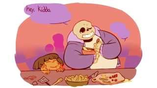 Sans and Frisk - The Knife (Undertale Comic)
