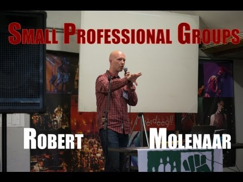 How to make your small group professional: Robert Molenaar at IARC 2013 Luxembourg