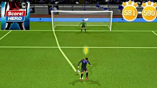 Score! Hero - Level 581-590 - 3 Stars screenshot 3