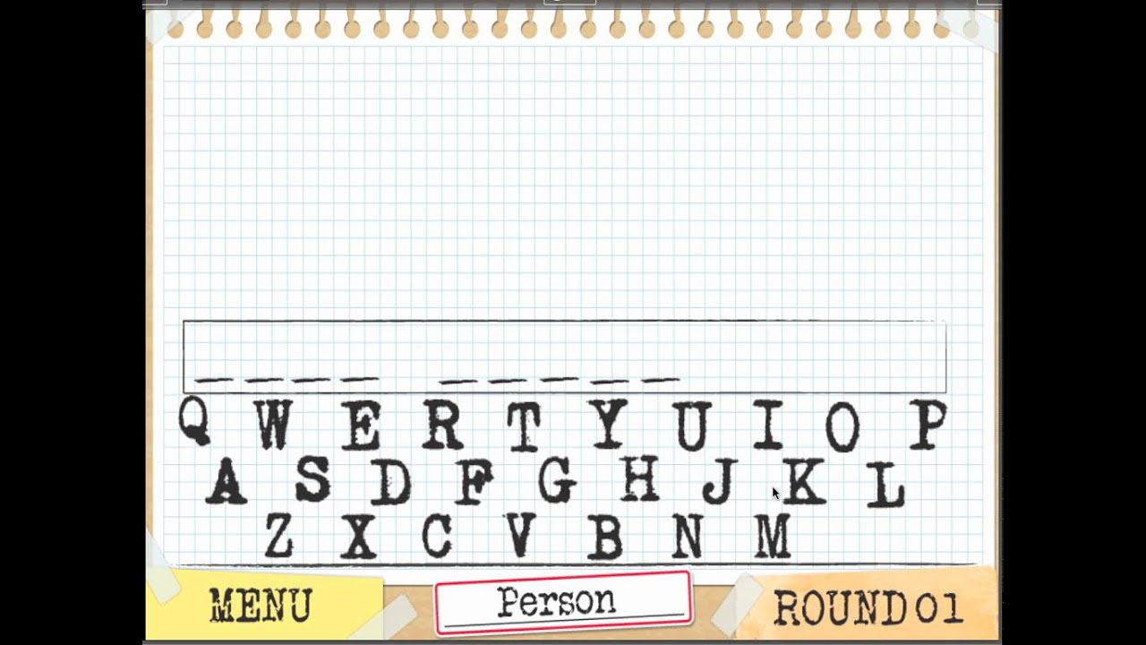 Hangman -- Gamesalad Template