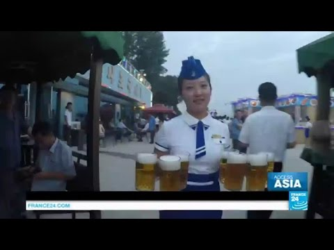 North Korea: welcome to Pyongyang's first ever beer festival!