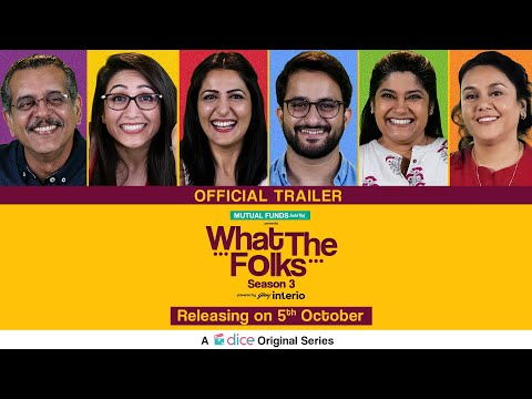 Dice Media | What The Folks Season 3 | Web Series | Official Trailer | Releasing on 5th Oct, 2019
