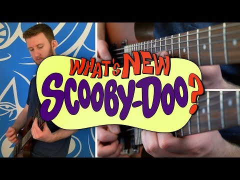 What's New Scooby-Doo? Theme on Guitar