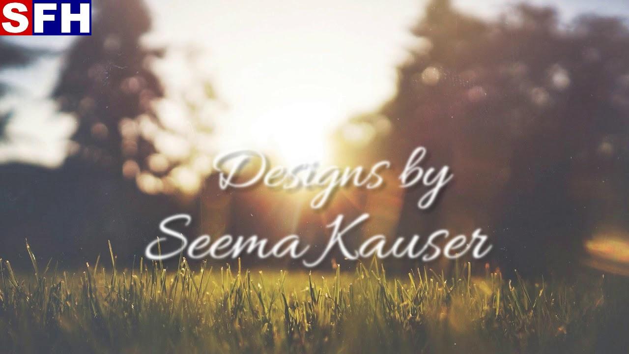 Superfine handicrafts designs by Seema Kauser