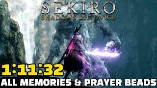 WORLD RECORD Sekiro All Memories & Prayer Beads Speedrun in 1:11:32
