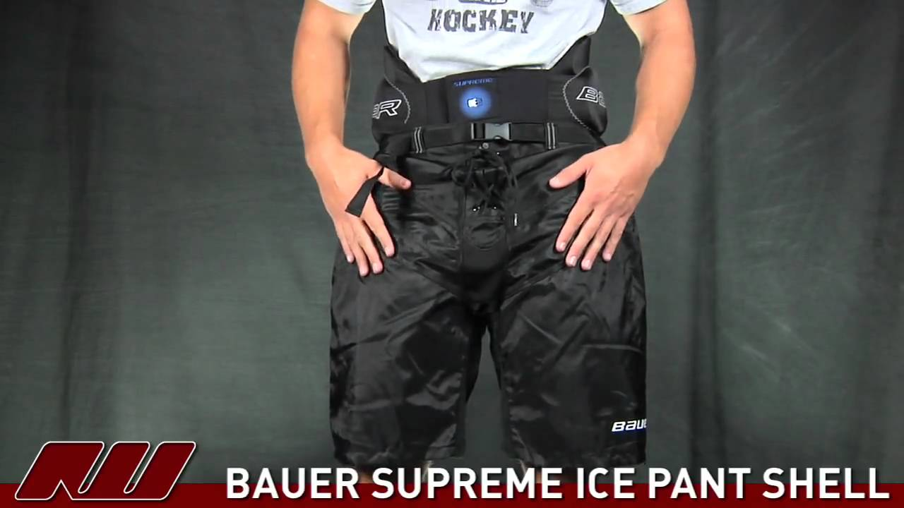 a723f4a051f Bauer Supreme Ice Pant Shell - YouTube