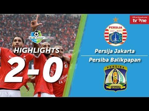 Persija Jakarta Vs Persiba Balikpapan: 2-0 All Goals & Highlights