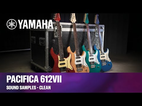 Yamaha Pacifica 612VII | Guitar Sound Samples - Clean