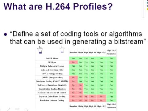 H264 Overview