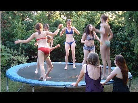 Apologise, but, Chubby girl on trampoline naked phrase You