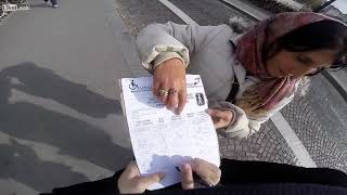 Székely Hungarian Language White Gypsies Stealing Tourists in Paris