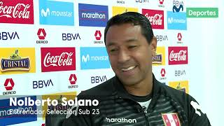 Entrevista a Nolberto Solano, DT de la Selección Peruana Sub 23 | JUEGOS PANAMERICANOS 2019