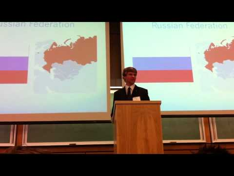 Winning Speech at UVic MUN 2010