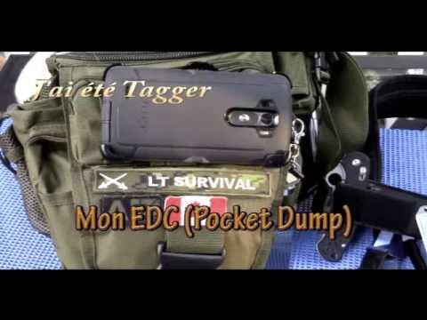 J'ai été Tagger,  Mon EDC (Pocket Dump)