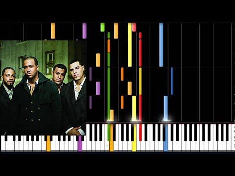 Aventura - Cuando volveras (Piano Tutorial)