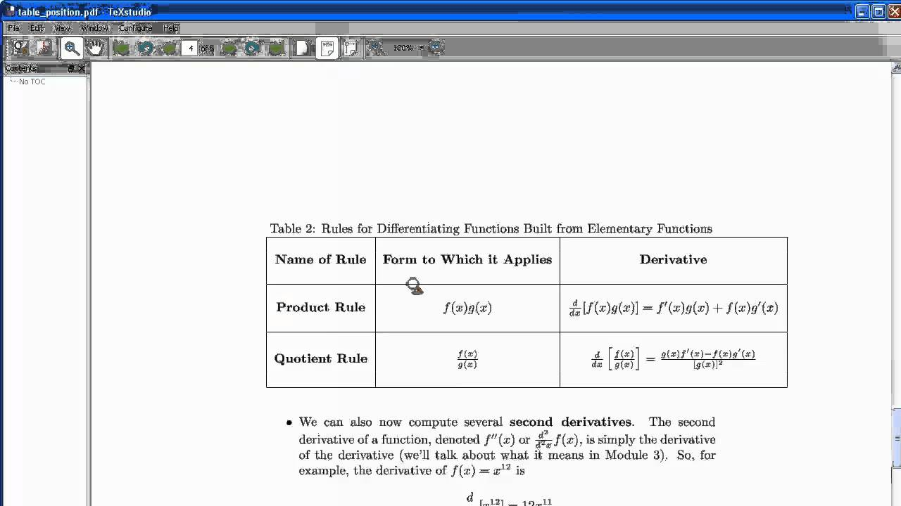 Latex tables 02 advanced tables youtube for Table width latex