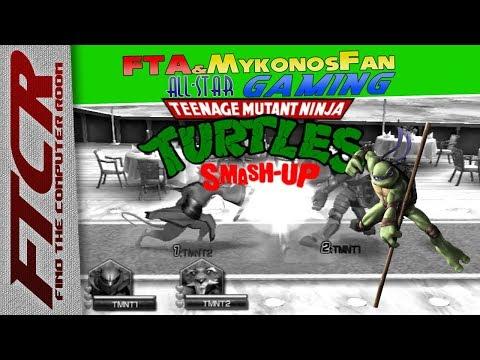 'Teenage Mutant Ninja Turtles: Smash Up': FTA & MyMirageFan All-Star Gaming