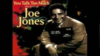 Joe Jones You talk too much