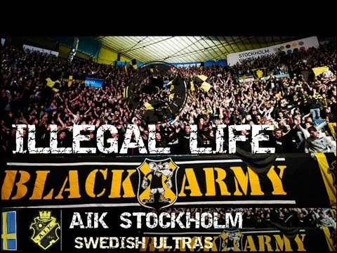 Aik Stockholm Ultras Black Army World Tribune Youtube