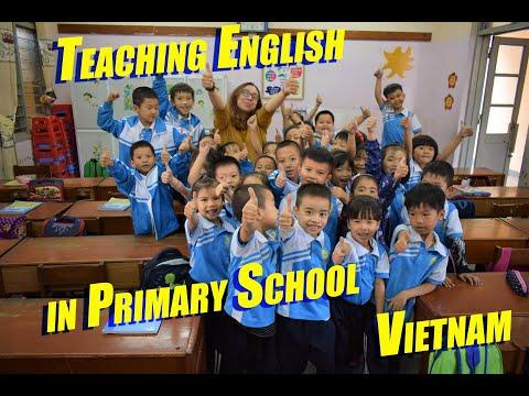 Teaching English in Public Primary School in Vietnam.