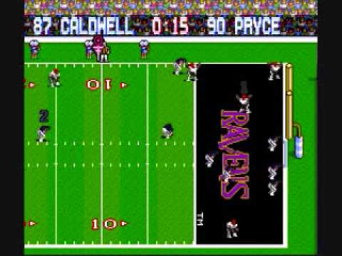 Bengals Game Winning TD to Beat the Ravens...According to Tecmo Super Bowl