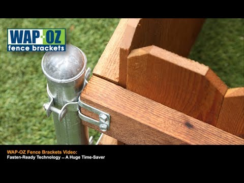 Wap Oz Fence Brackets Youtube