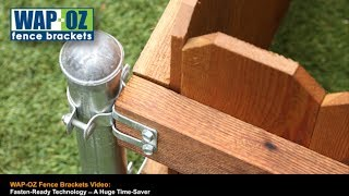Wap-oz Fence Brackets