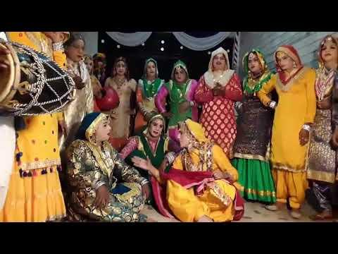ਨॅਚਣਾ ਪਟੋਲਾ ਬਣਕੇ ਨੀ | Noor art | Punjabi Gidha | Punjabi Bollian