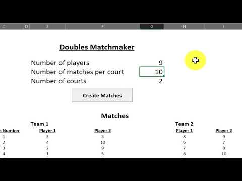 matchmaking program