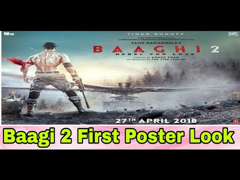 Review On Baaghi 2 First Poster